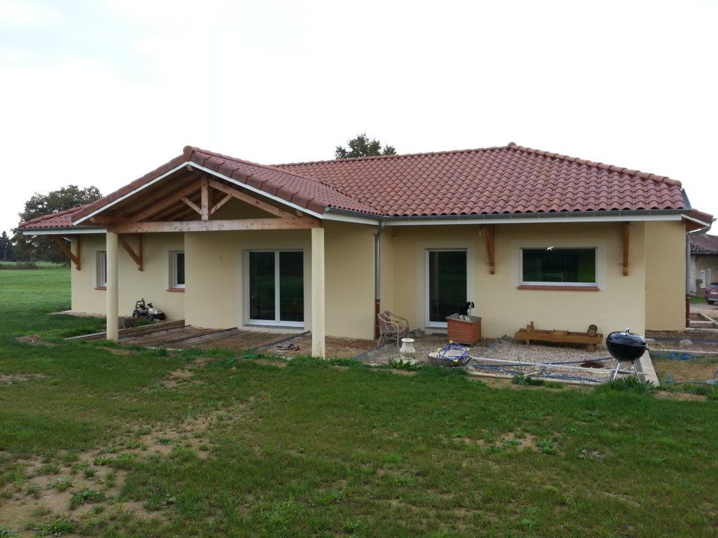 Maison plein pied 145 m atelier construction for Agencement maison plein pied