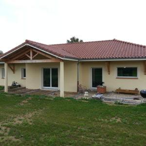 Maison plein pied 145 m²