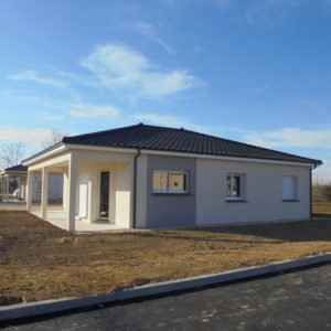 Maison plein pied 3 chambres 116 m²